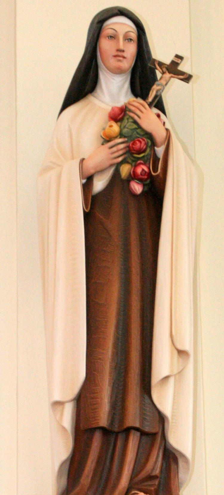 Saint Therese Of The Child Jesus St Michael The